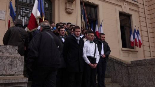 Conscrits de Villefranche 2019 - Remise du drapeau aux 20 ans