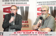 En Direct-Live du Salon BD en Beaujolais 2017