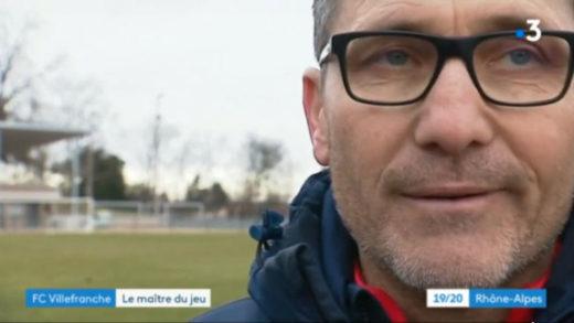 Le FCVB au JT de France 3 Rhône-Alpes