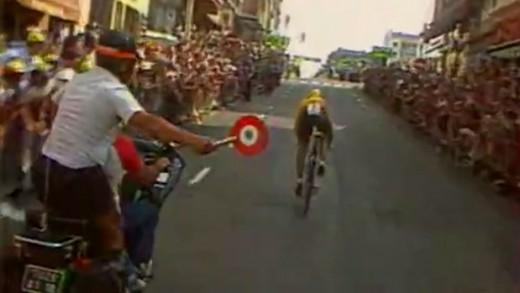 Tour de France 1984 - Laurent Fignon remporte le contre la montre à Villefranche
