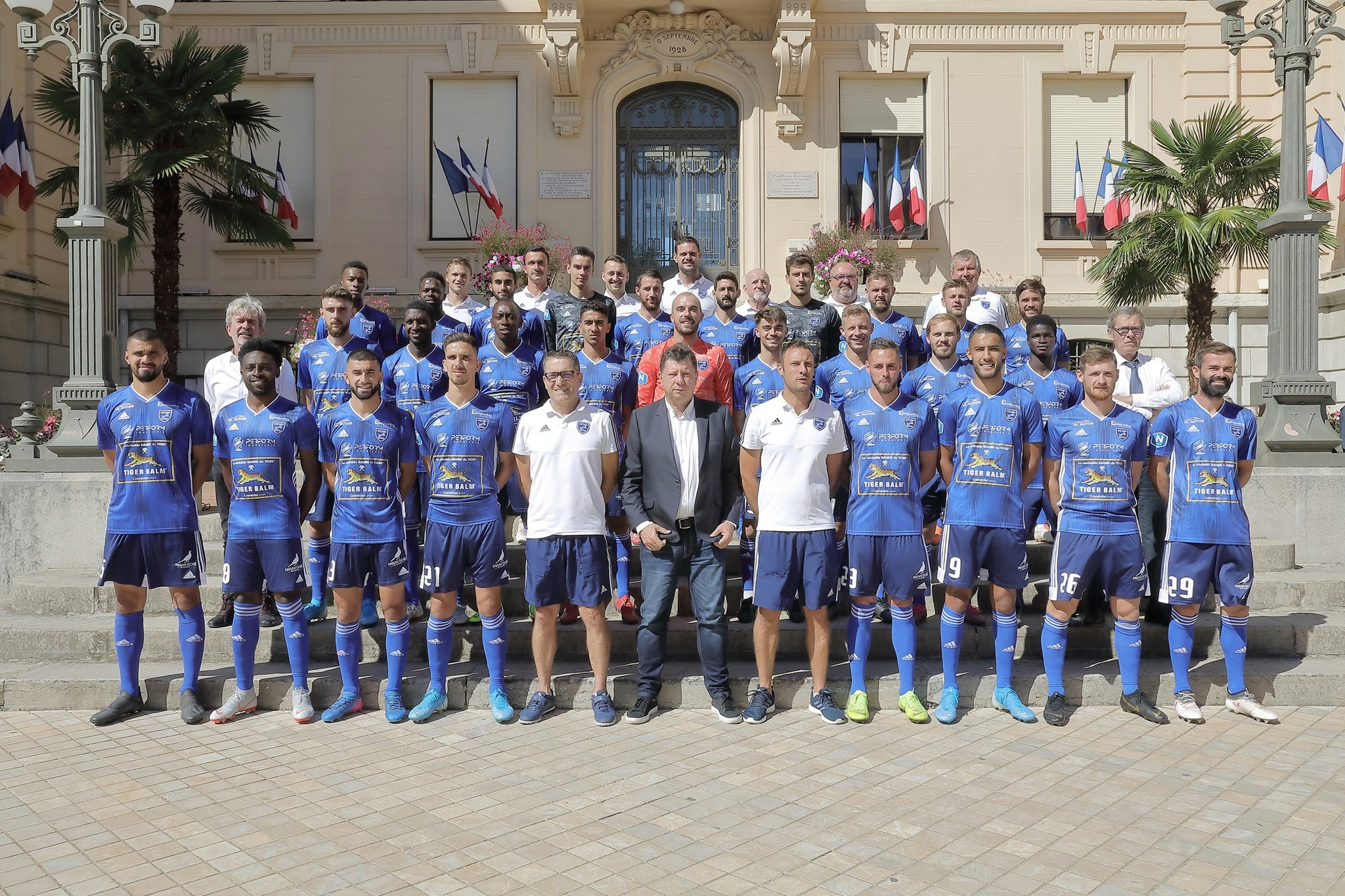 Football Club Villefranche Beaujolais 2019-2020