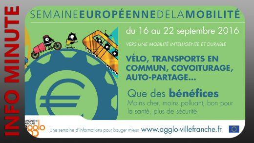 Agglo Villefranche Beaujolais - Semaine de la mobilité du 16 au 22 septembre
