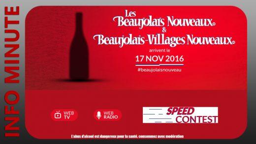 Les Beaujolais Nouveaux arrivent le 17 novembre