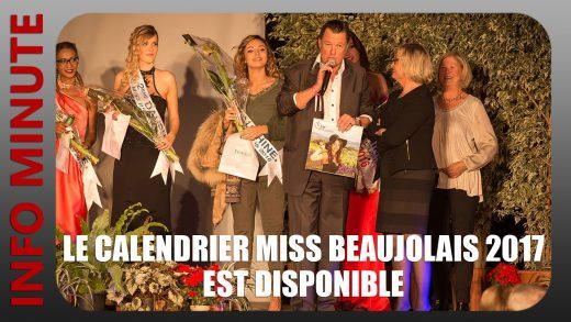 Calendrier Miss Beaujolais 2017