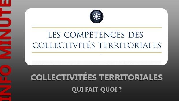 Les compétences des collectivités territoriales