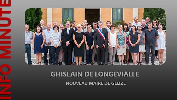 Ghislain de Longevialle nouveau maire de Gleizé