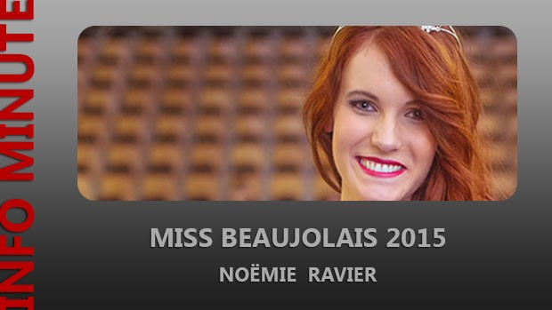 Noémie Ravier élue Miss Beaujolais 2015
