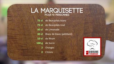 Recette de la Marquisette