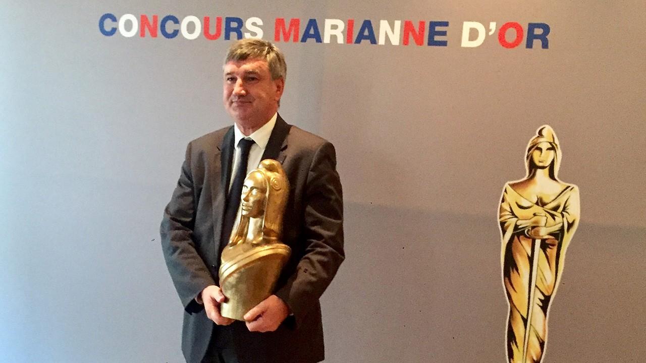 Un Marianne d'Or pour le département du Rhône