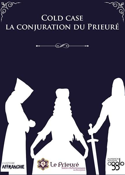 Expo Jeu - Cold Case, la conjuration du Prieuré