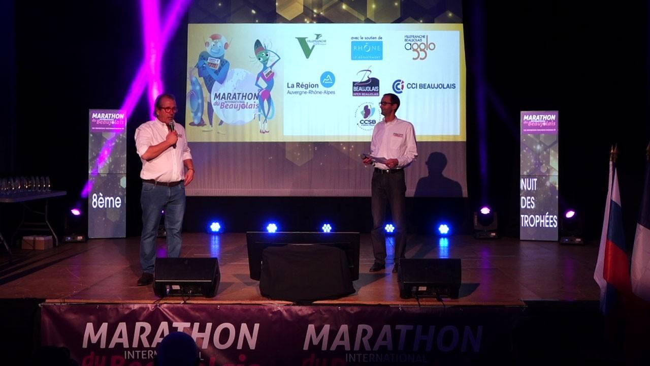 Nuit des Trophées du Marathon du Beaujolais 2018