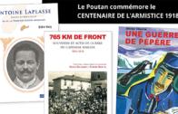 Livres – 4 ouvrages sur le centenaire de l'armistice aux éditions du Poutan