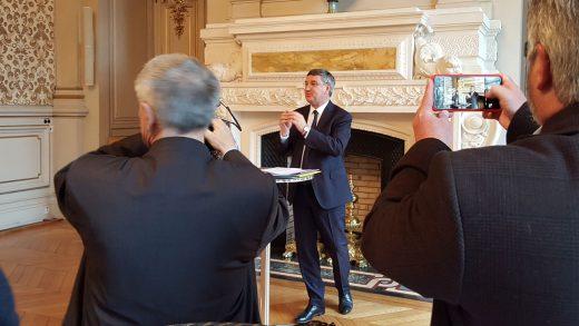 Rhône le département - Vœux à la presse 2017