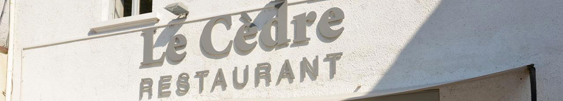 Restaurant Le Cèdre