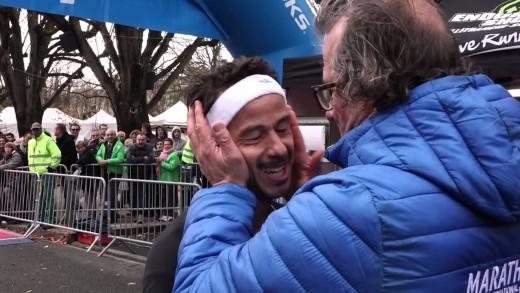 Arrivée du Marathon du Beaujolais 2015