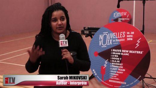 Ateliers et concert de Sarah Mikovski à la prison de Villefranche-sur-Saône (2016)