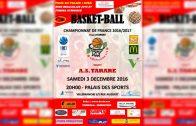 Basket – BCVB – TARARE 03/12/2016