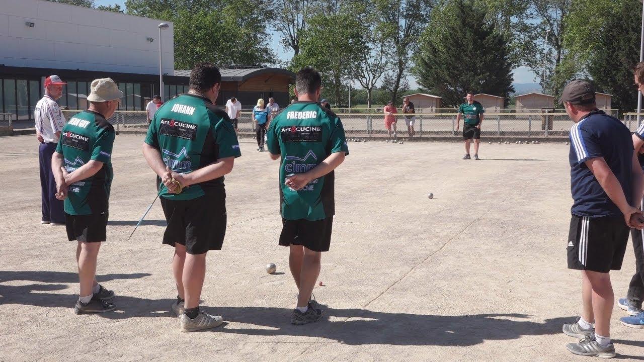 Boule Lyonnaise - Championnat de National 2 à Villefranche