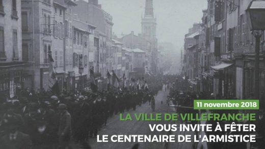 Célébrez le centenaire de l'armistice à Villefranche-sur-Saône