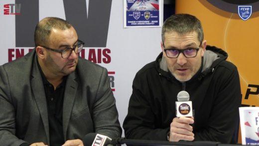 Coupe de France – Conférence de presse de Maxime Jasse et Alain Pochat