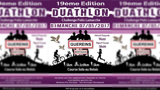 DUATHLON DE GUEREINS EDITION 2017