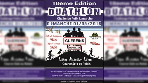 Duathlon – Duathlon de Guéreins – Réaction de Vincent Rohmer