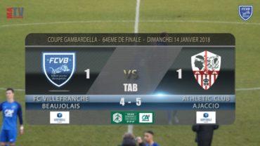 FCVB vs AC Ajaccio – Coupe Gambardella