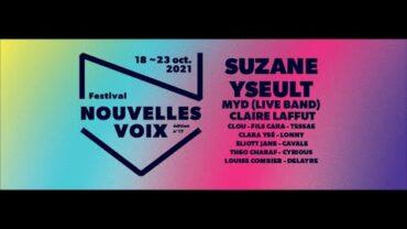 Festival Nouvelles voix 2021 – Teaser