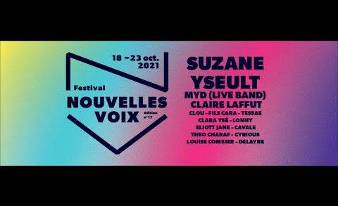 Festival Nouvelles voix 2021 - Teaser