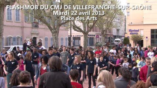 Flashmob CMJ Villefranche-sur-Saône