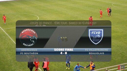 Foot - Andrézieux vs FCVB 06/02/2021