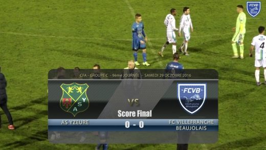 Foot – AS YZEURE – FCVB 29/10/2016