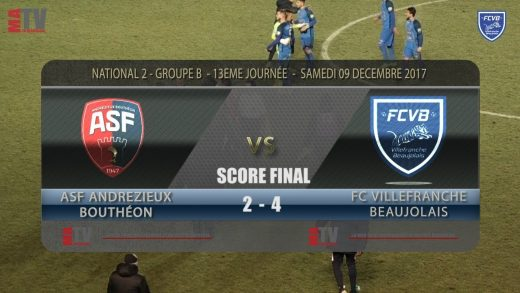 Foot – ASF Andrézieux / FCVB 13éme journée