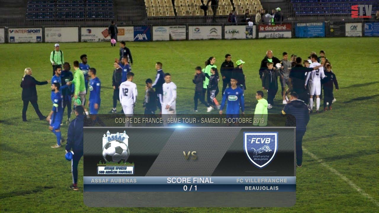 Foot - Aubenas vs Villefranche 12/10/2019