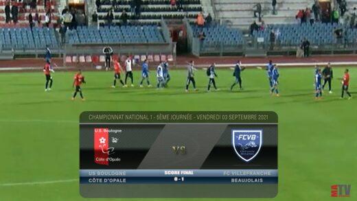Foot - Boulogne vs FCVB 03/09/2021