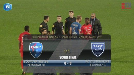 Foot - Bourg en Bresse vs FCVB  5/04/2019