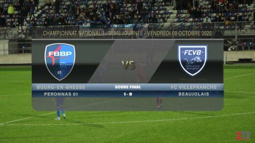 Foot - Bourg Péronnas 01 vs FCVB 9/10/2020