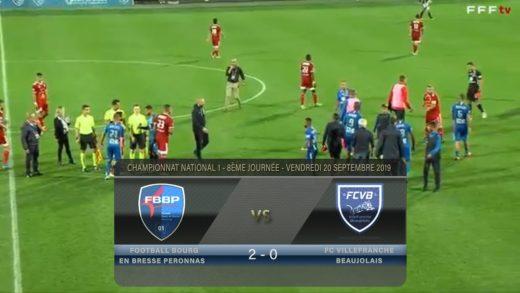 Foot - Bourg Peronnas vs FCVB