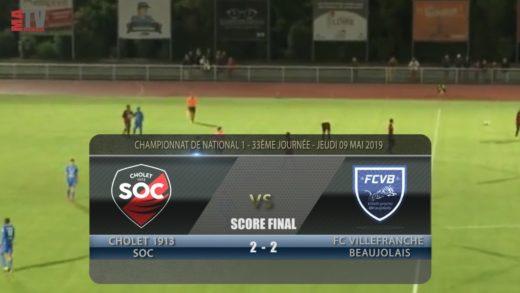 Foot - Cholet vs FCVB 9/05/2019