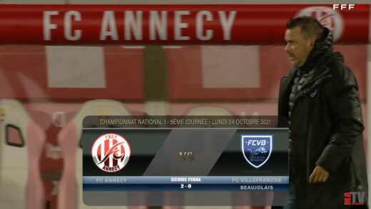 Foot - FC Annecy vs FCVB 04/10/2021