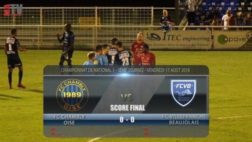 Foot - FC Chambly vs FCVB