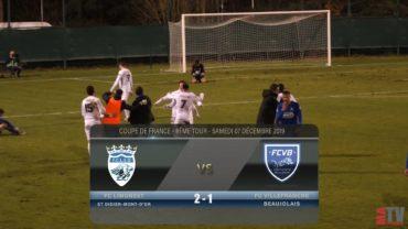 Foot – FC Limonest vs Villefranche 7/12/2019