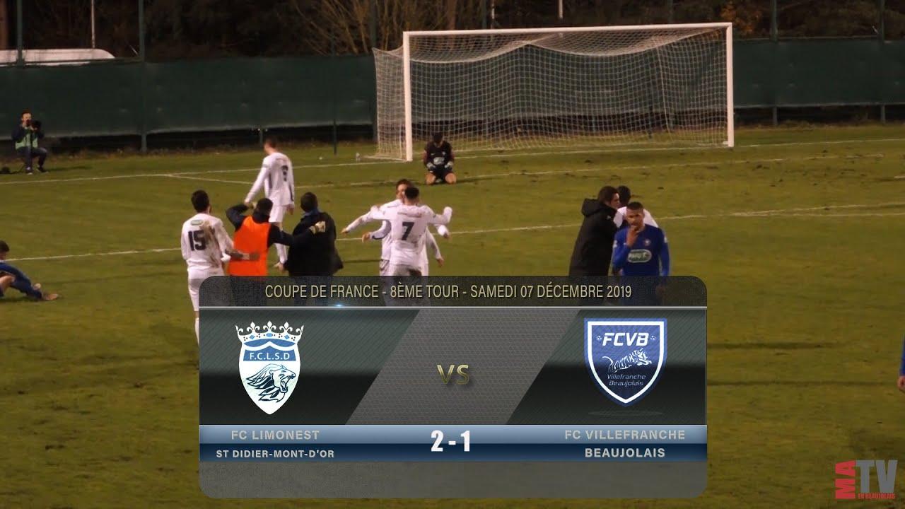 Foot - FC Limonest vs Villefranche 7/12/2019