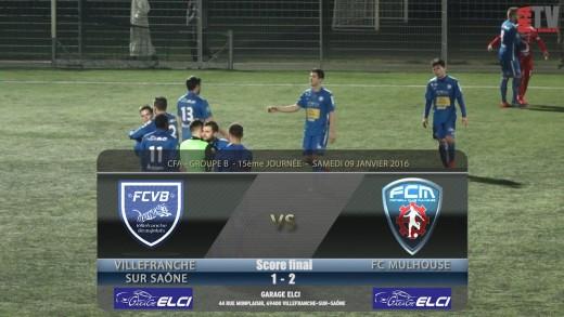 Foot - FCVB / FC MULHOUSE - 09 01 2016