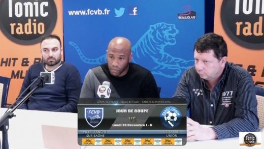 Foot - FCVB -Jour de coupe Mardi 29 Décembre 2015 J-5