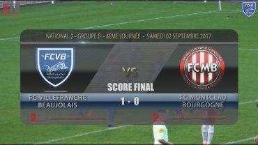 Foot – FCVB – Montceau-les -Mines – 02/09/2017