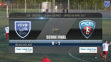 Foot – FCVB – MULHOUSE  08/04/2017