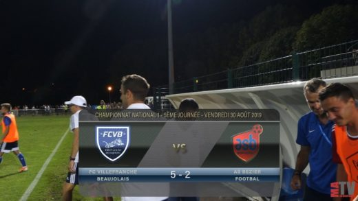 Foot - FCVB vs AS Béziers