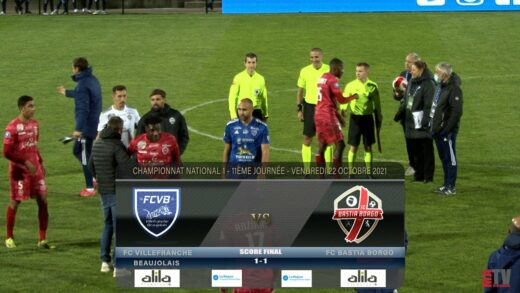 Foot - FCVB vs Bastia Borgo 22/10/2021
