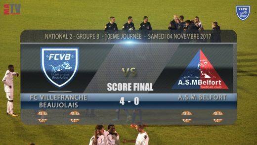 Foot – FCVB vs BELFORT 4/11/2017